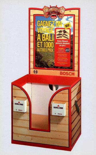 Display Box Carton avec Fronton