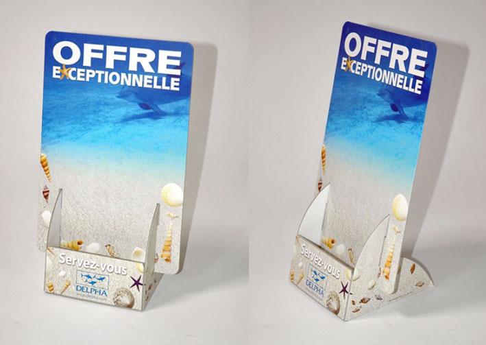 Porte Leaflets - Comptoir