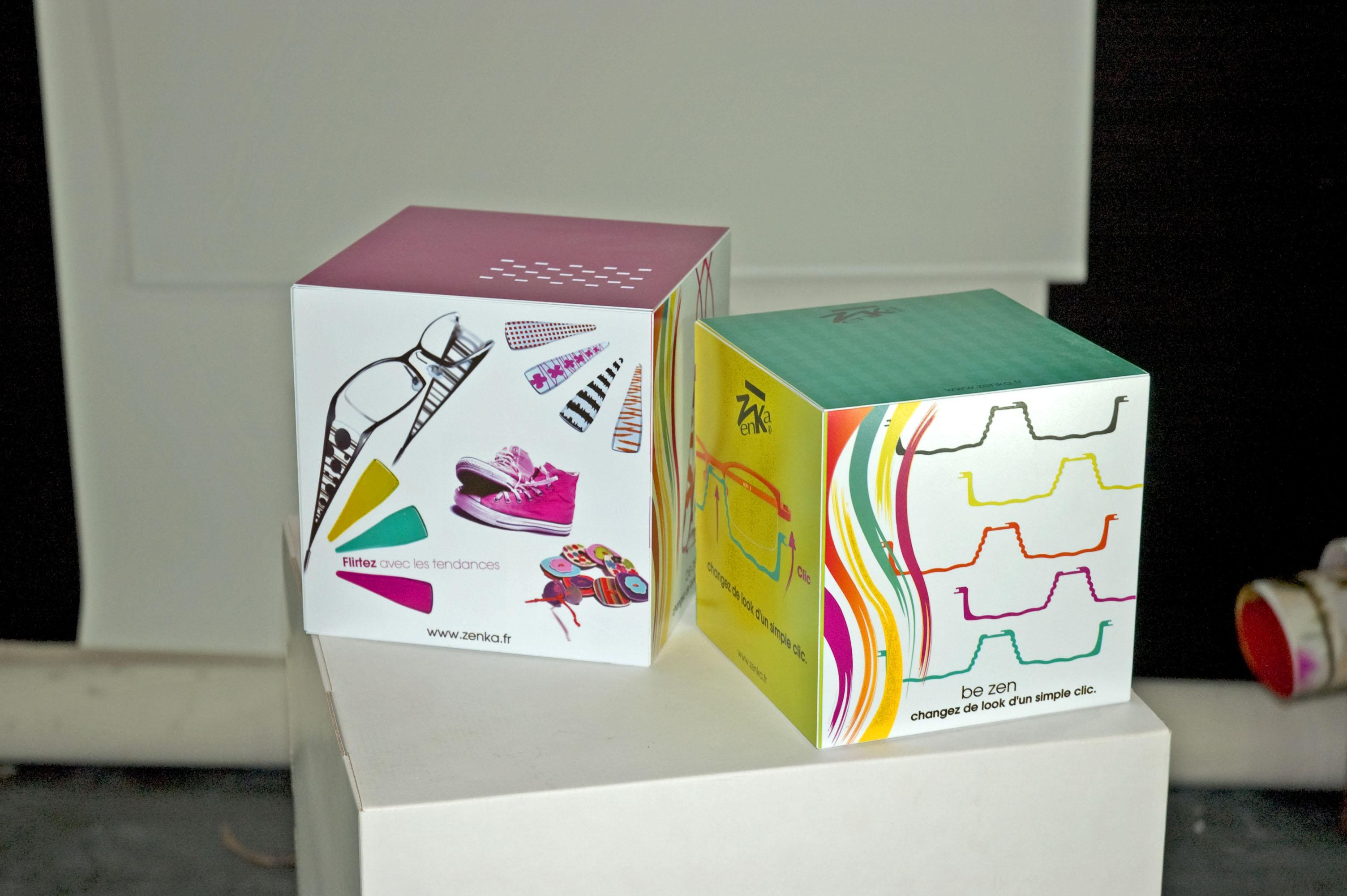 Cubes Vitrine