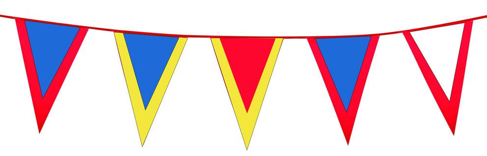 Guirlande Fanions Bicolore